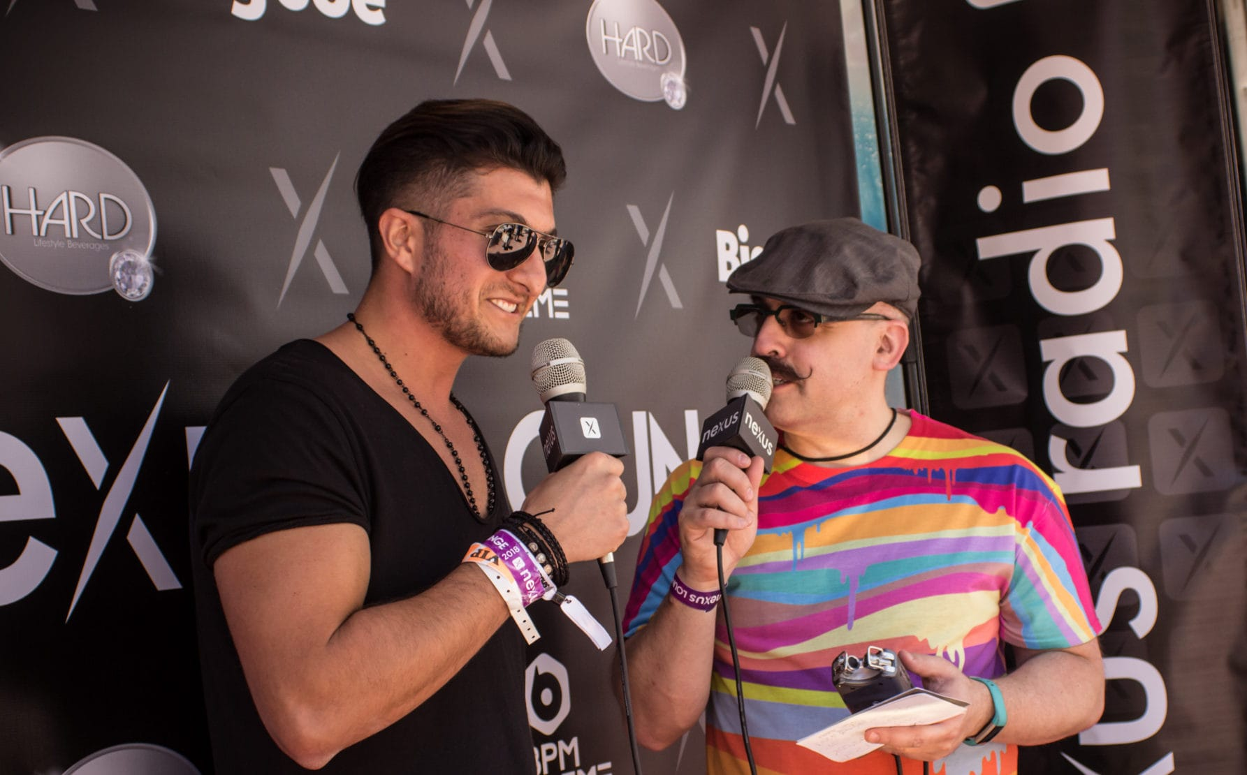 Christian Jordano at Nexus Radio Lounge Miami 2018