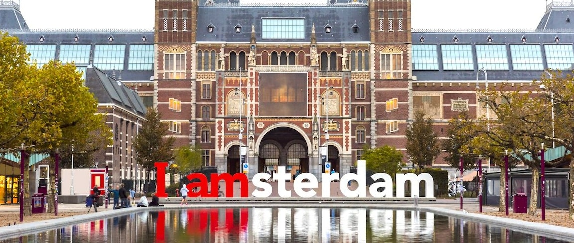 I amsterdam sign in Amsterdam in the Netherlands 1