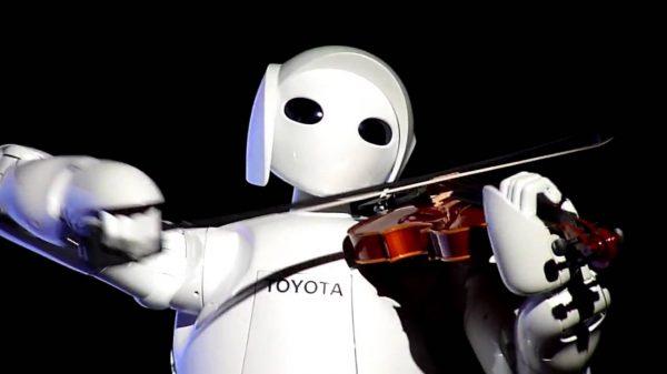 toyota robot music